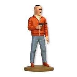 Collectible figurine Tintin, Colonel Jorgen Boris 13cm + Booklet Nº96 (2015)