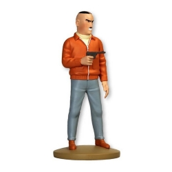 Figurine de collection Tintin, Colonel Jorgen Boris 13cm + Livret Nº96 (2015)