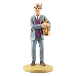Collectible figurine Tintin, Mik Eznadinoff 14cm + Booklet Nº99 (2015)