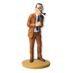 Figurine de collection Tintin, J.M. Dawson 13cm + Livret Nº102 (2015)
