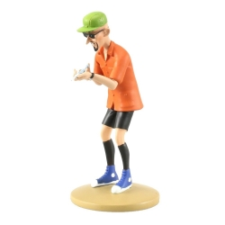 Figurine de collection Tintin, Le docteur Krollspell 13cm + Livret Nº104 (2015)