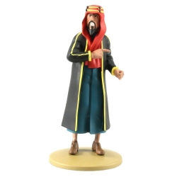 Collectible figurine Tintin, The Cheikh Bab El Ehr 13cm + Booklet Nº106 (2015)