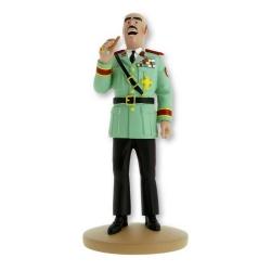Figurine de collection Tintin, Le Général Tapioca 13cm + Livret Nº108 (2016)
