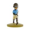 Figurine de collection Tintin, Coco le petit Congolais 9cm + Livret Nº110 (2016)