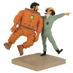 Figure Moulinsart Fariboles Tintin, Haddock and Calculus Moon 44024 (2019)