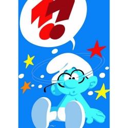 Poster The Smurfs, The Brainy Smurf (50x70cm)