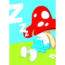 Poster The Smurfs, The Lazy Smurf (50x70cm)