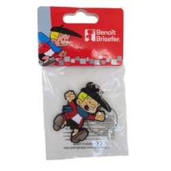Collectible Keychain Figure Puppy Benny Breakiron (Happy)