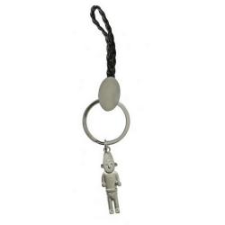 Keyring chain Tintin The Fetish Arumbaya Moulinsart 42421 (2009)