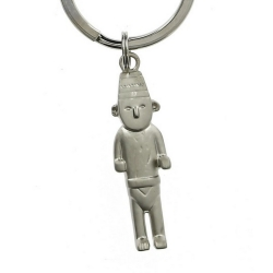 Keyring chain Tintin The Fetish Arumbaya Moulinsart 42421 (2009)