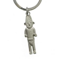 Porte-clés Tintin Le Fétiche Arumbaya Moulinsart 42421 (2009)
