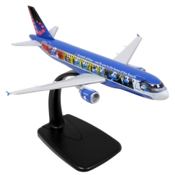 Airplane mockup Airbus Air Brussels A320 Aerosmurf The Smurfs 1/200 (2019)