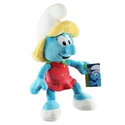 Soft Cuddly Toy Puppy The Smurfs: Smurfette with strawberry dress 30cm (755695)