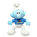 Soft Cuddly Toy Puppy The Smurfs: I Love Brussels 20cm (755341)