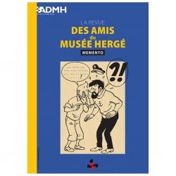 Revista des Amis du Musée Hergé Tintín ADMH Memento 2019 (Inglés)