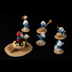 Collectible scene Fariboles with figurines, The Smurfs Orchestra P1 (2019)