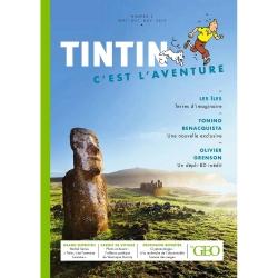 Magazine Moulinsart GEO Edition: Tintin, c'est l'aventure Îles Nº2 FR (2019)