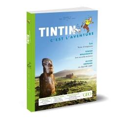 Revue Moulinsart GEO Edition Tintin, c'est l'aventure Nº1, Îles Nº2 FR (2019)
