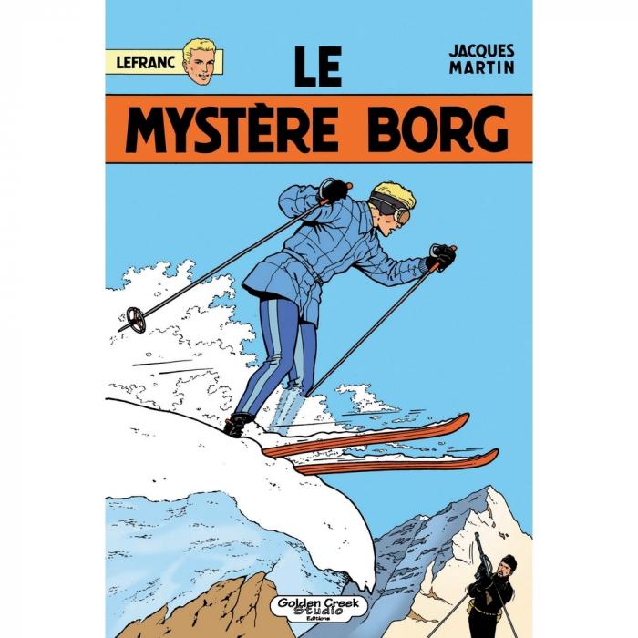 LEFRANC LE MYSTERE BORG 1964 casterman