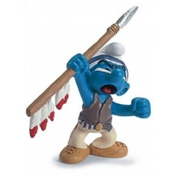 The Smurfs Schleich® Figure - The Smurf Indian Spear (20550)
