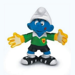 The Smurfs Schleich® Figure - Football Smurf goalkeeper (20525)