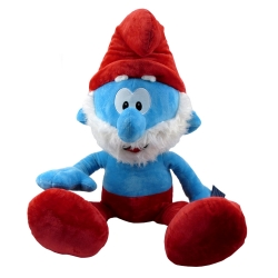 Soft Cuddly Toy Puppy The Smurfs: Papa Smurf XXL 90cm (755275)