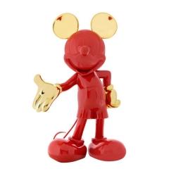 Figura de colección Leblon-Delienne Disney Mickey Mouse Welcome (Rojo-Dorado)