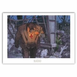 Poster offset Blacksad Juanjo Guarnido, Docker (70x50cm)