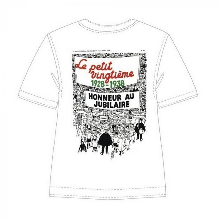 Camiseta 100% algodón Tintín Le Petit Vingtième 1928-1938 723002 (2013)