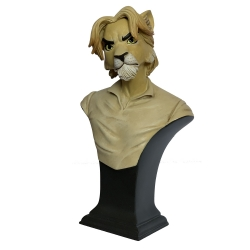 Buste de collection Attakus Blacksad Chad Lowell le lion B430 (2019)