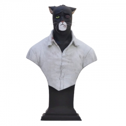 Collection Bust Attakus Blacksad John Blacksad Wounded face V3 B426 (2013)