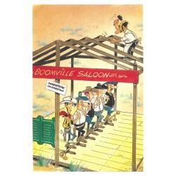 Postcard Lucky Luke: Boomville Saloon (10x15cm)