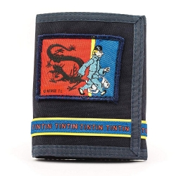 Wallet of the Adventures of Tintin and Snowy, The Blue Lotus (10,5x13,5cm)