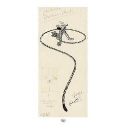 Poster offset Marsupilami Héritiers, Franquin (50x100cm)