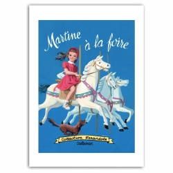 Poster affiche offset Martine à la foire, Marlier (50x70cm)