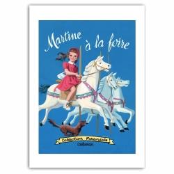 Póster cartel offset Martine à la foire, Marlier (50x70cm)