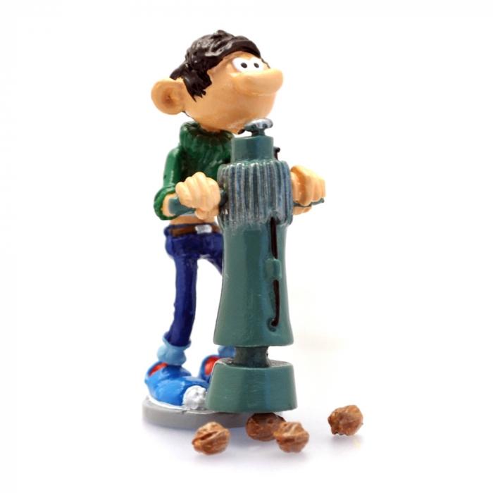 Collectible Figurine Pixi Gaston Lagaffe The construction nutcracker 6583 (2019)