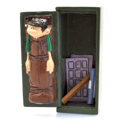 Figurine de collection Pixi Gaston Lagaffe, l'armoire pour la sieste 6584 (2019)