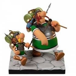 Figurine de collection Fariboles Astérix et Obélix Légionnaires (2019)