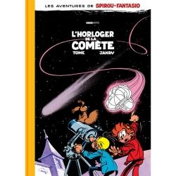 Álbum de lujo Black & White Spirou y Fantasio: L'horloger de la comète (2019)