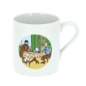 Collectible Porcelain mug Tintin, Haddock breakfast at Moulinsart Castle (47984)