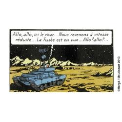 Tintín El Tanque Lunar Aterrizaje en la Luna Fuera de serie Nº1 29580 (2013)
