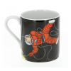 Collectible Porcelain mug Tintin and Haddock on the Moon (47986)