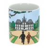 Collectible Porcelain mug Tintin, Snowy with Haddock Moulinsart Castle (47985)