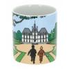Tasse mug porcelaine Tintin et Milou avec Haddock château de Moulinsart (47985)