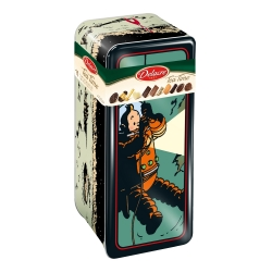Delacre Tin Biscuit Box, Tintin on the Moon (400g)
