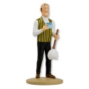 Collectible figurine Tintin Nestor feather duster Moulinsart 42227 (2019)