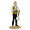 Figurine de collection Tintin Nestor avec plumeau Moulinsart 42227 (2019)