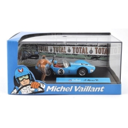 Voiture de collection Michel Vaillant IXO Miniature Le Mans 1961 1/43 (2008)