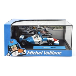 Voiture de collection Michel Vaillant IXO Miniature F1-2003 1/43 (2008)